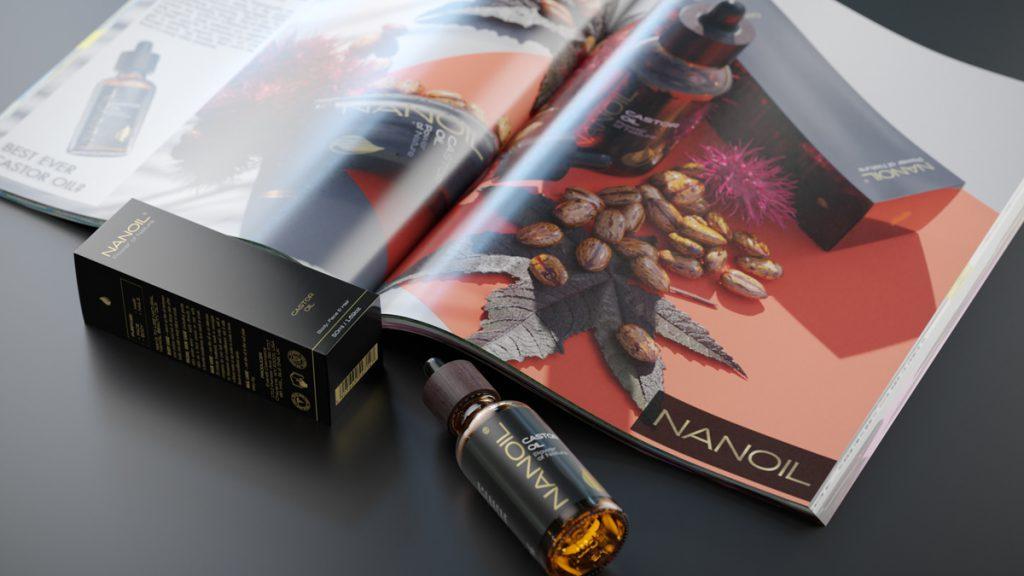 najlepszy olej rycynowy Nanoil